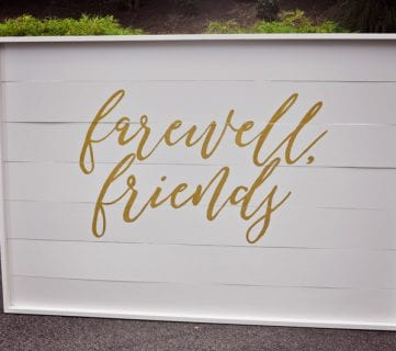 DIY Shiplap Wood Sign Backdrop for Parties and Photos
