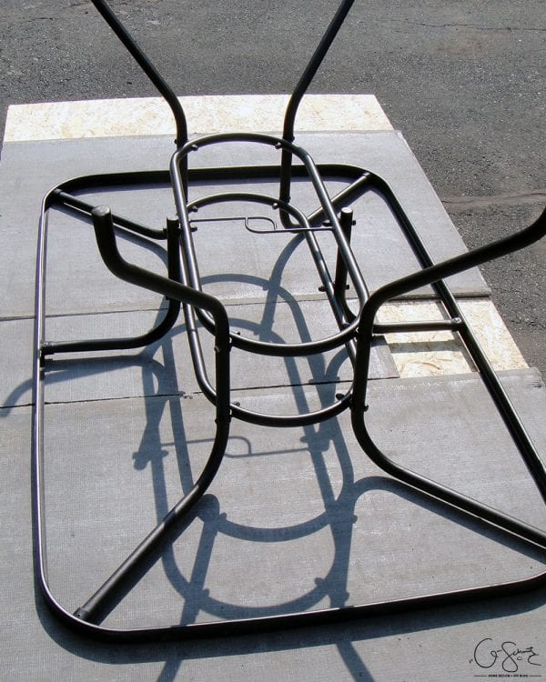 Remodelaholic how to replace a patio table top with tile - Basics mosaic tiles patios ...