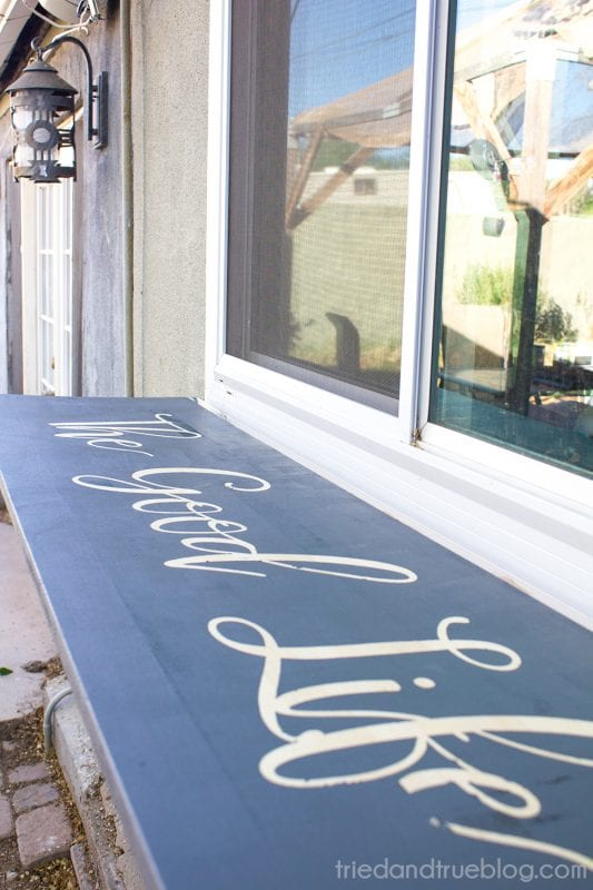 diy outdoor folddown table for by tried and true featured on
