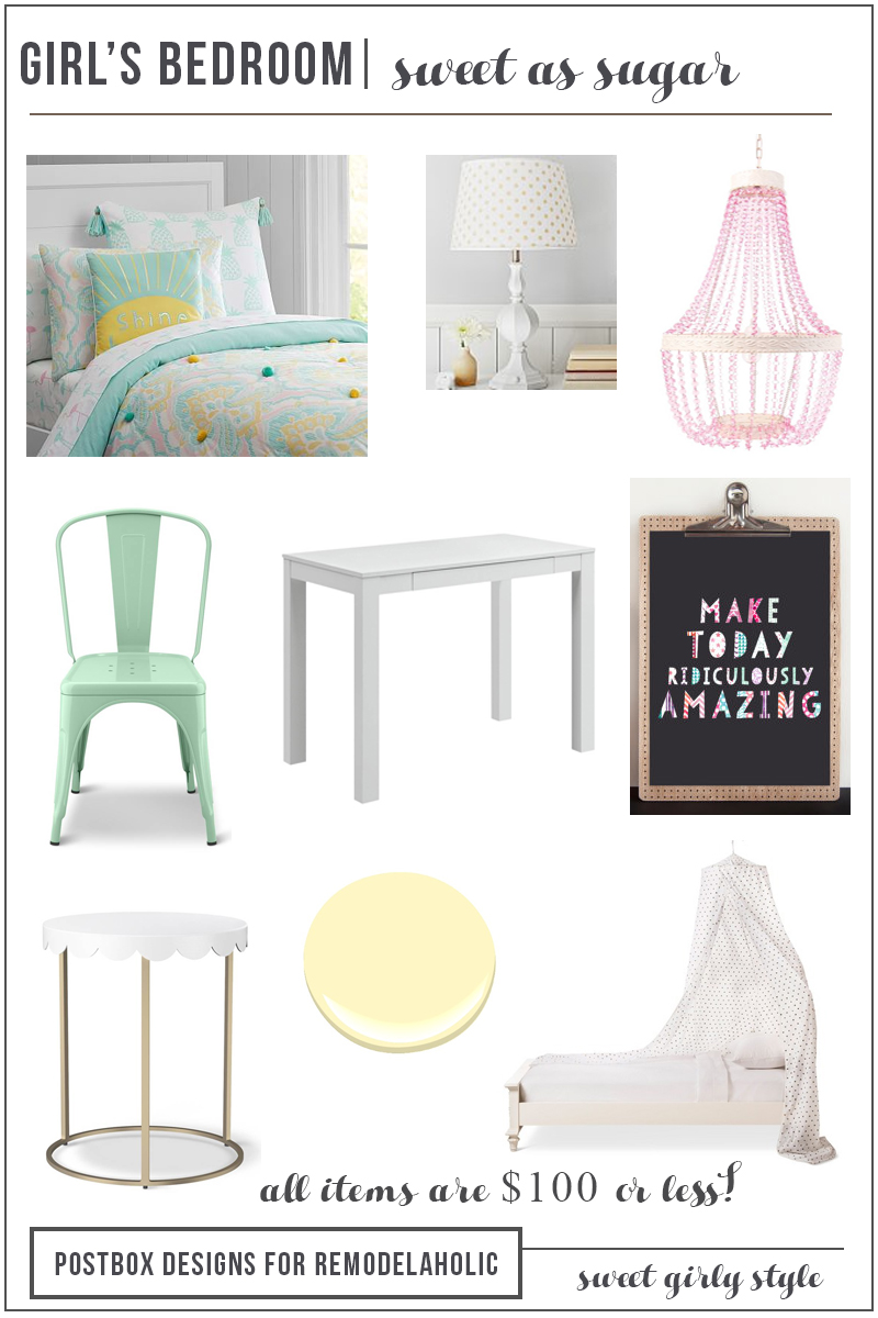 Remodelaholic Sweet As Sugar Girl S Room Design Ideas