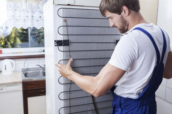 How to clean a refrigerator coils