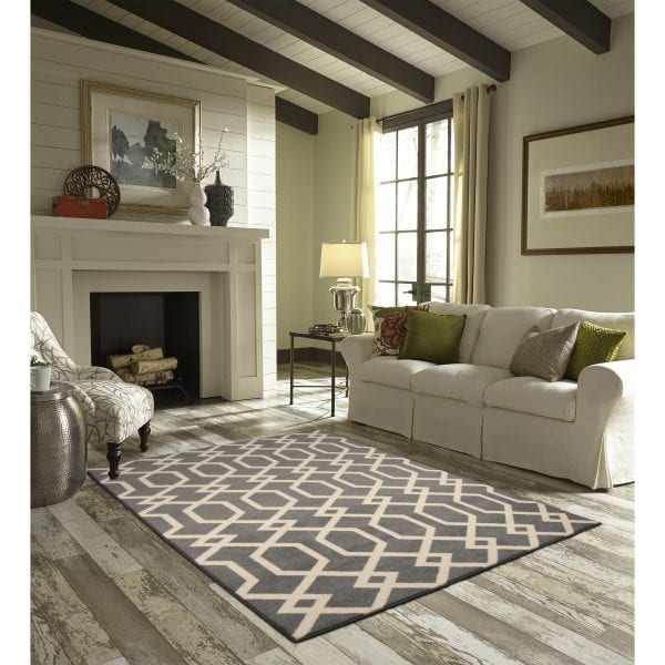 Maples Rugs Exeter Elephant Gray 5x7