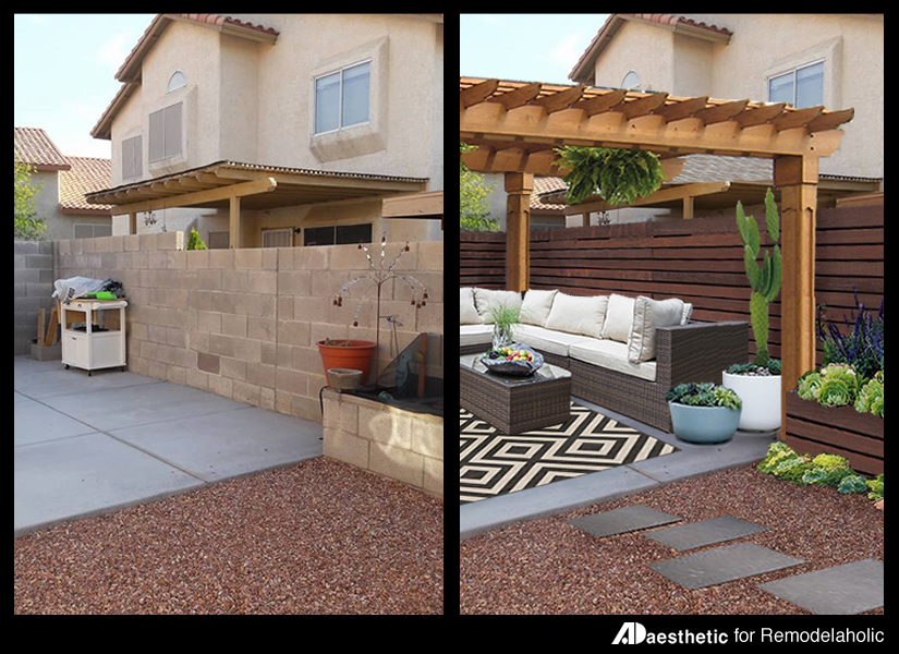 Pretty Patio Featured Image • AD Aesthetic for Remodelaholic