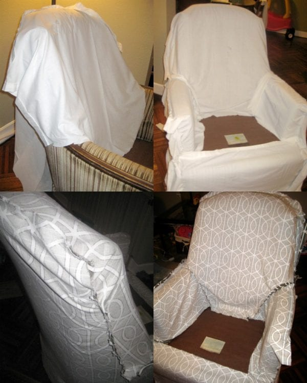 Tips for making your own custom slipcover for furniture @Remodelaholic