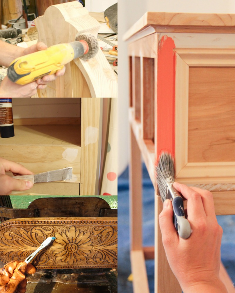 Remodelaholic Must Know Tips To Prep And Refinish Furniture
