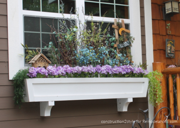 Diy Window Box Tutorial, Construction2style For Remodelaholic