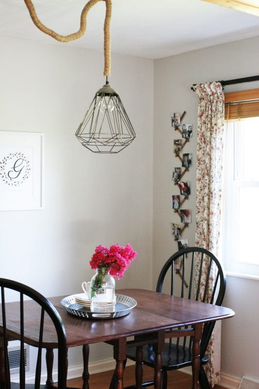 farmhouse style breakfast nook makeover, Craftivity Designs