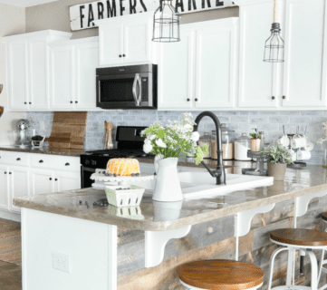 Friday Favorites: Farmhouse Kitchen + A Filing Cabinet Makeover