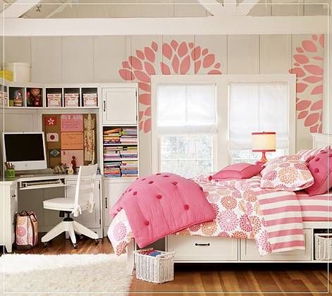 girls room for Girl Bedroom Mood Board,Postbox Designs
