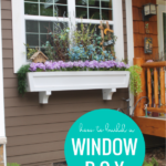 How To Build A DIY Window Box Planter In 5 Steps, Construction2style For Remodelaholic