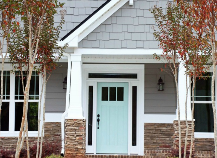Remodelaholic exterior paint colors that add curb appeal Curb appeal doors