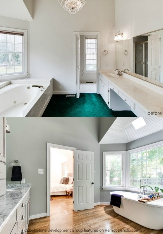 Remodelaholic | Before & After: From Dated 1980's