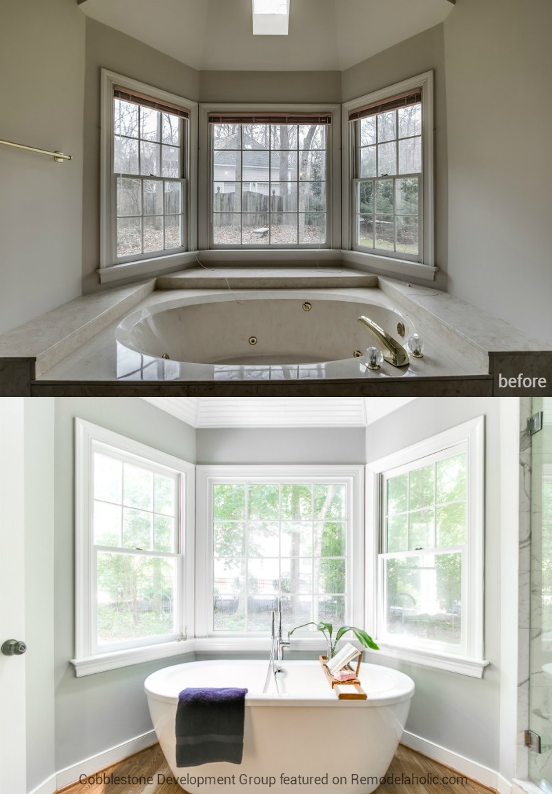 1980 S Master Bathroom Tub Renovation Fendall Home Cobblestone Development Group Featured On