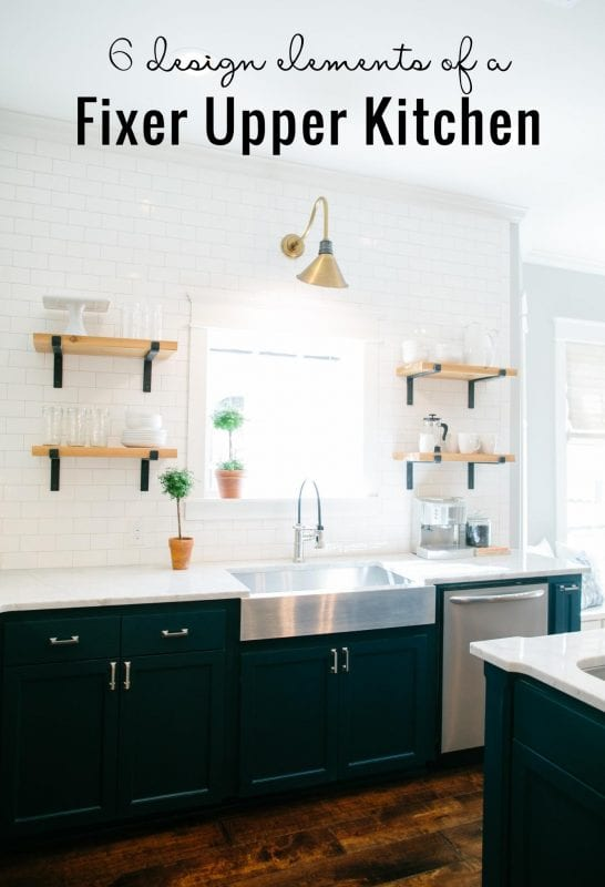Albert Blog 6 Design Elements Of A Fixer Upper Kitchen Diy Options