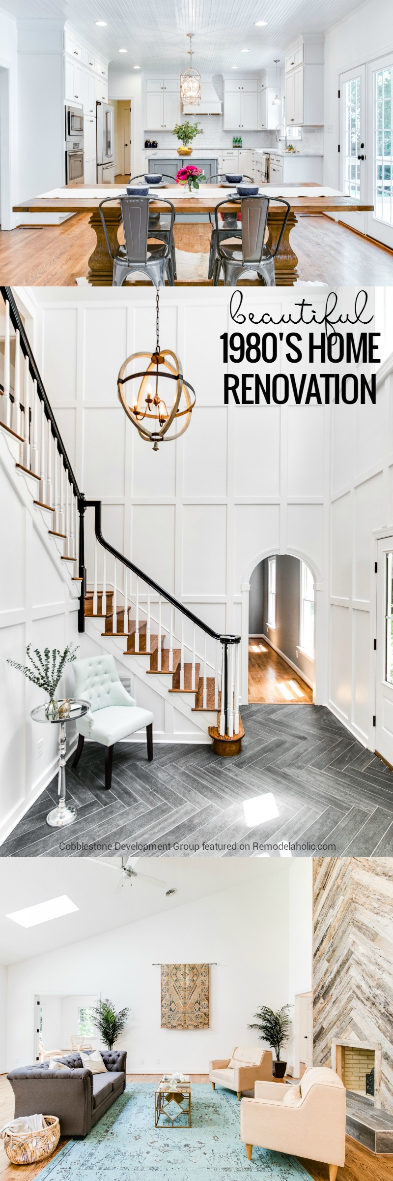 This Dated 1980 S Renovation Became A Beautiful And Clically Modern Home With Some Design Choices