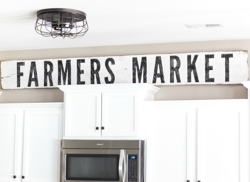 Remodelaholic How To Make Painted Farmhouse Signs The Easy Way