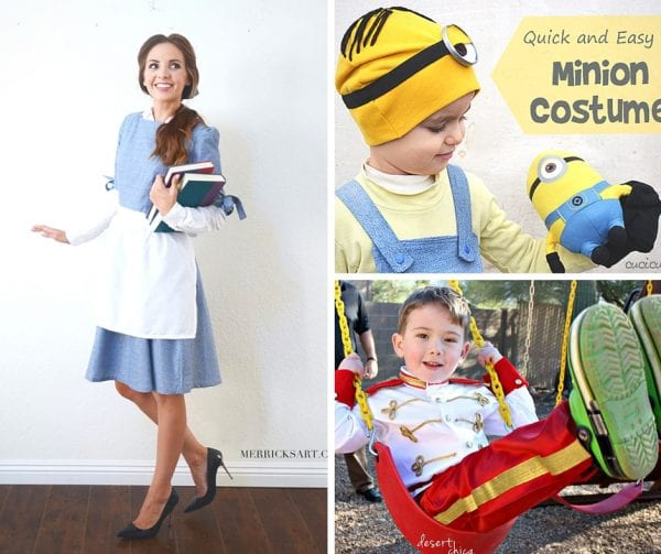 Halloween is a fun time to dress up as your favorite Disney characters. See if you can find your favorite in this great list of 25 Easy Disney Costume Ideas featured on Remodelaholic.com