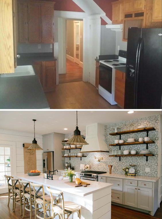 Remodelaholic 6 Design Elements Of A Fixer Upper Kitchen