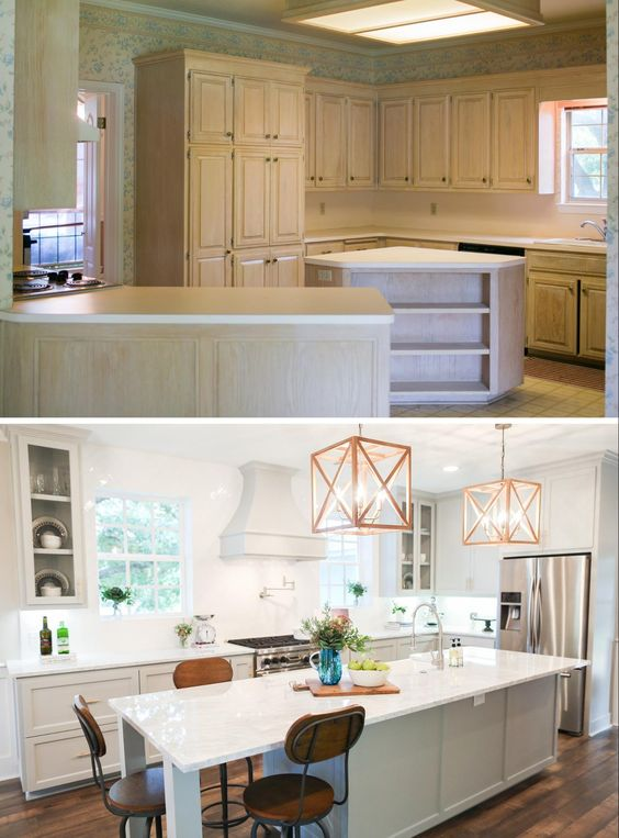 Remodelaholic 6 Design Elements Of A Fixer Upper Kitchen