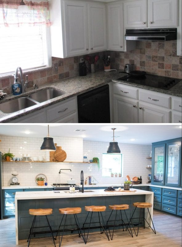 Home Design Elements remodelaholic | 6 design elements of a fixer upper kitchen + diy