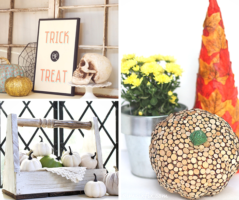 remodelaholic 25 halloween home decor ideas simple thanksgiving table decorations diy home decor