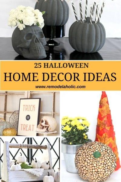remodelaholic   25 halloween home decor ideas