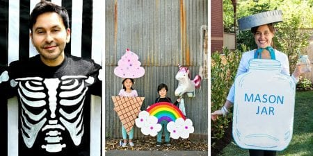 Remodelaholic | 25 Last Minute Halloween Costume Ideas