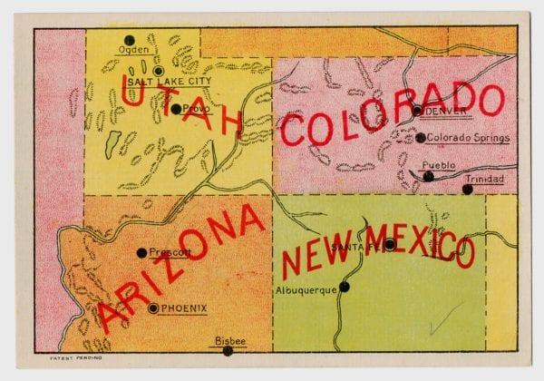 Vintage Maps for home decor via Remodelaholic