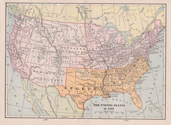 Vintage Maps of America, via Remodelaholic