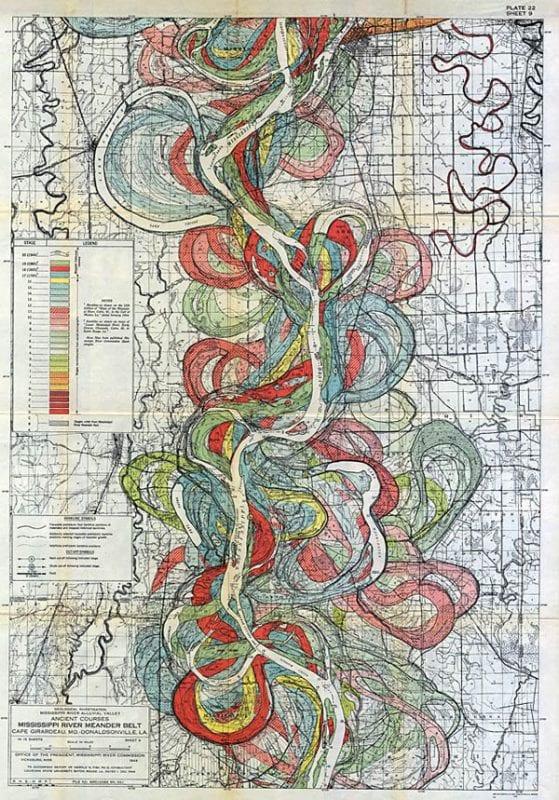 Vintage Maps for DIY home decor via Remodelaholic