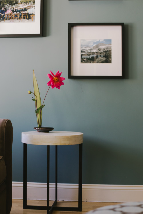 Wall color is Aegean Teal. Color Spotlight on Remodelaholic