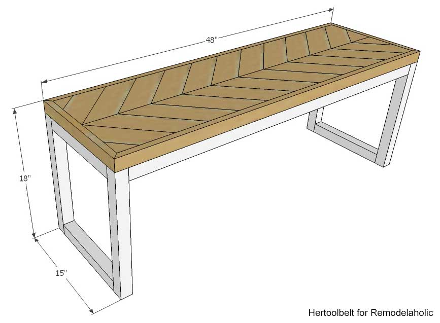Permalink to simple wood bench plans