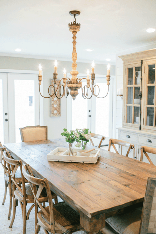 cottage farmhouse dining room style inspiration