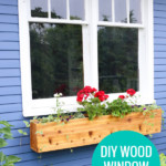 Diy Cedar Wood Window Boxes To Add Curb Appeal, Remodelaholic