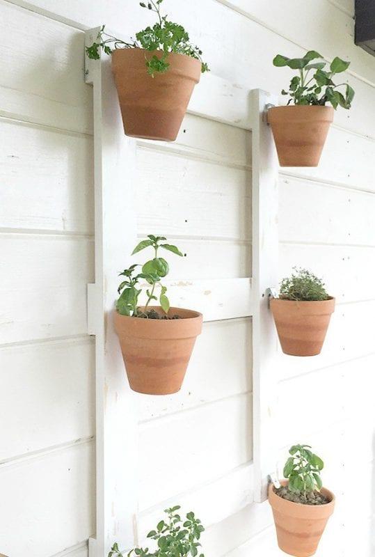 easy diy wall planter, Twelve on Main