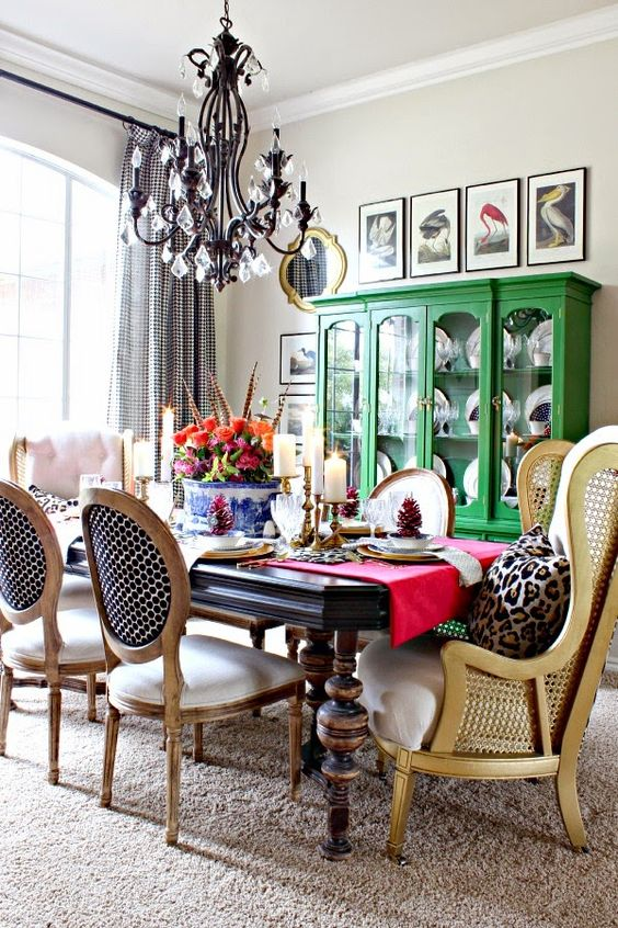 Eclectic Room Design: One Dining Room: Three Different Ways