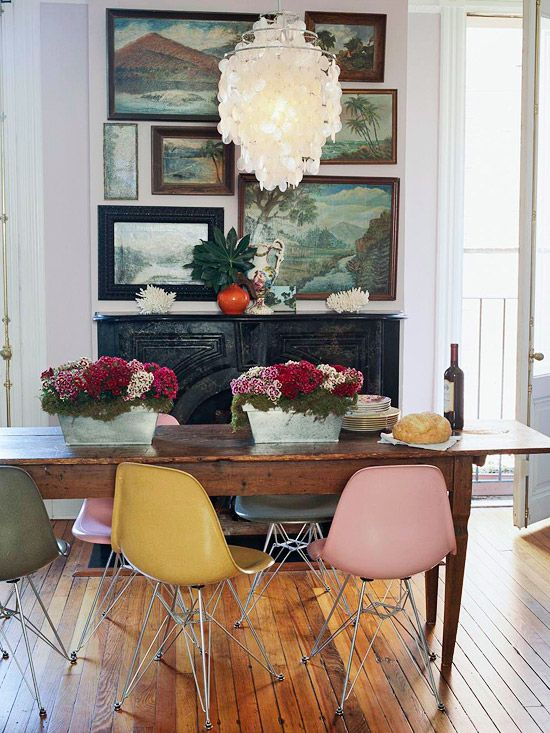 Eclectic Style Dining Room Inspiration