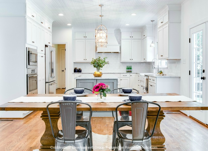 Feat Fendall Home Renovation, Cobblestone Development Group Featured On  @Remodelaholic
