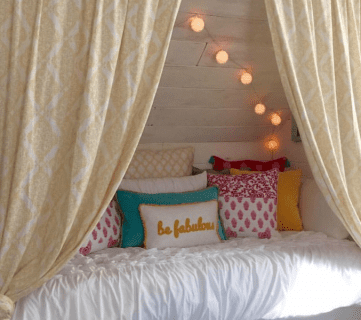 Get This Look: Bohemian Style Reading Nook