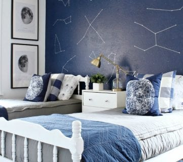 Friday Favorites: Space Bedroom and One Board Projects