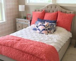 feat instagram homeshow bed coral