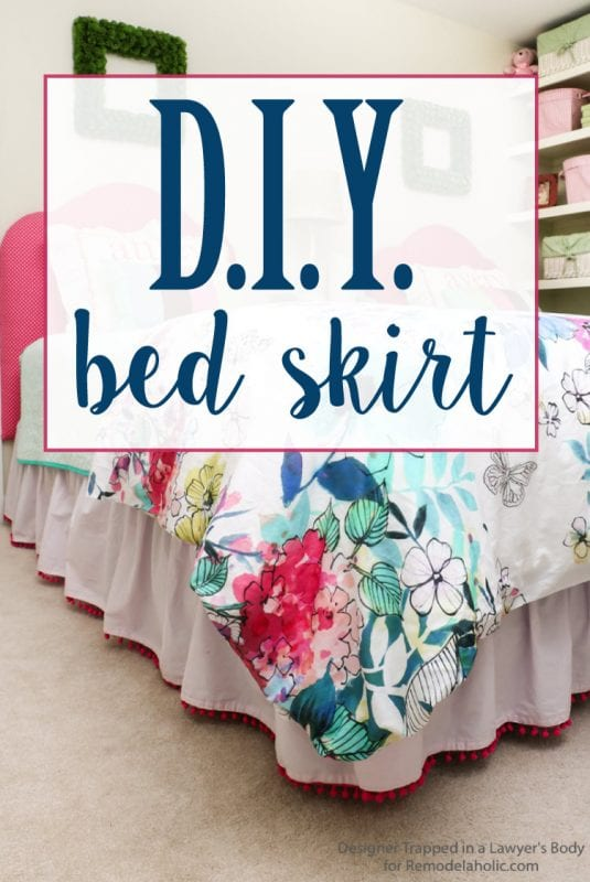 Embellished Bed Skirts Are Expensive If You On A Budget Create This Semi