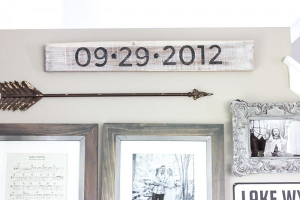 Remodelaholic how to make painted farmhouse signs the for What kind of paint to use on kitchen cabinets for printer sticker paper