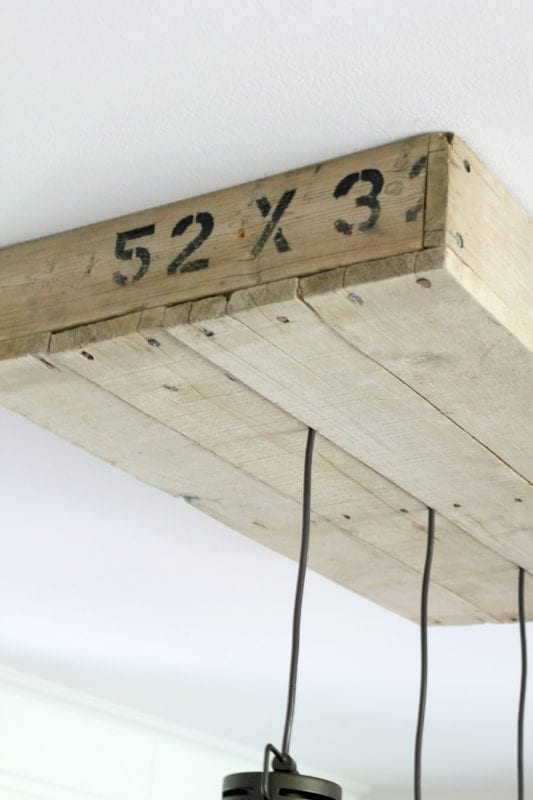 diy-palletwood-lightbox-for-pendant-lighting-noting-grace- & Remodelaholic | How to Make a Pallet Wood Light Box azcodes.com