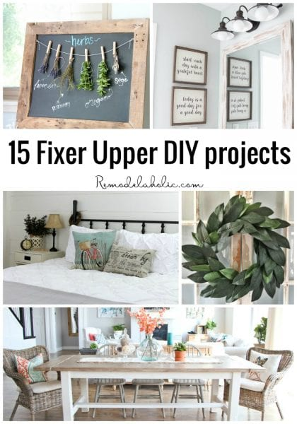 15 Fixer Upper DIY Projects_Remodelaholic