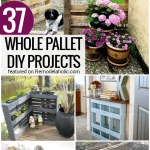 37 Whole Pallet Projects, no disassembly required @Remodelaholic