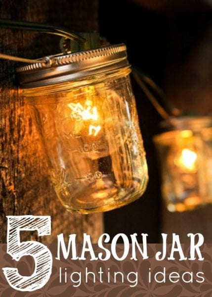 mason jar lighting ideas