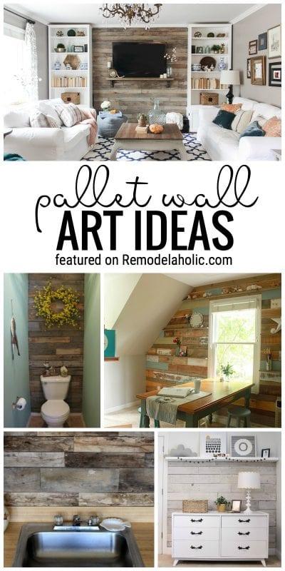 Attractive 65 Pallet Decor Ideas