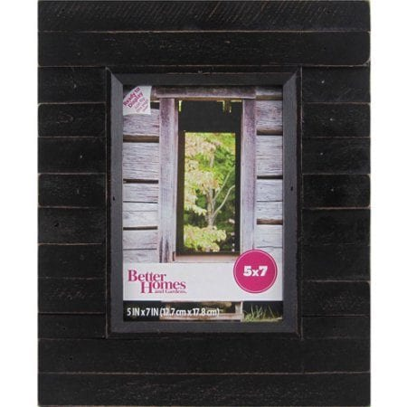 5 x 7 Pieced Farmhouse Frame in Black