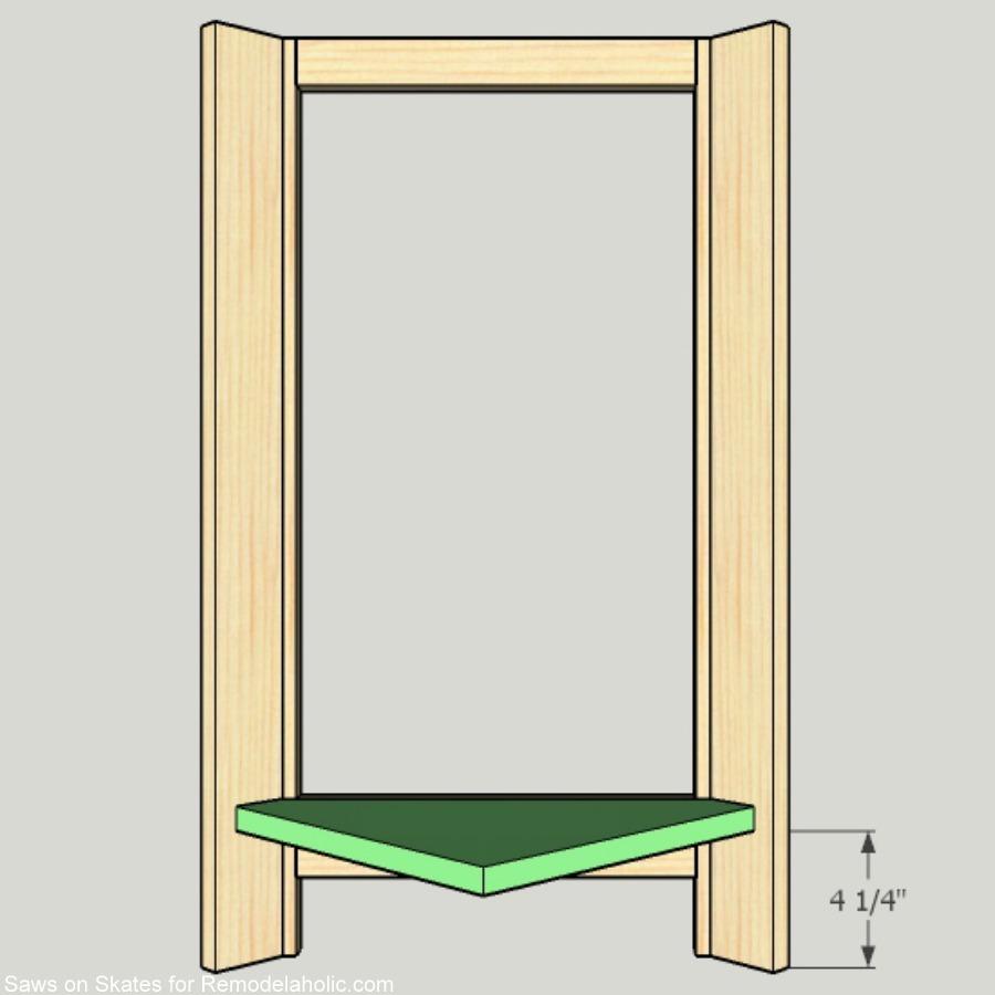 corner-cabinet-saws-on-skates-bottom-shelf-installation